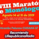 La XVIII maratón de monólogos 2019 llega a URepublicanaRadio