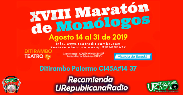 maratón de monólogos
