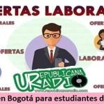 Trabajo en Bogotá para estudiantes de Derecho - septiembre 2019